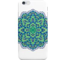 The Mandala-Cool Emerald iPhone Case/Skin