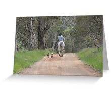 """"""" The Drover """" Greeting Card"""