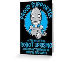 Robot Uprising 2 Greeting Card