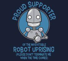 Robot Uprising 2 Kids Tee