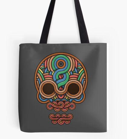 Celtic Skull Tote Bag