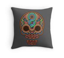 Celtic Skull Throw Pillow