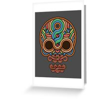 Celtic Skull Greeting Card