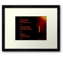 Love...All You Need Framed Print