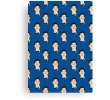 Doctor Who Smiling Canvas Print