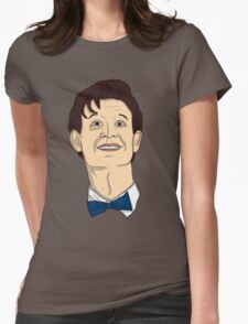 Doctor Who Smiling Womens Fitted T-Shirt