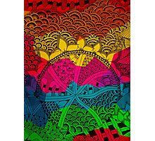 Mixture Patterns Photographic Print