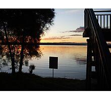 Lake Macquarie Sunset 3 Photographic Print