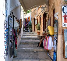 Lindos Alleyway by Tom Gomez