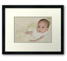 Now give me.... 'Contemplation'! Perfect!!!  Now hold it....... Framed Print