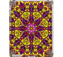 Abstract pattern, symmetrical 3 iPad Case/Skin