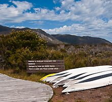 Welcome Kayaks, South West Tasmania, World Heritage Area by ScottH