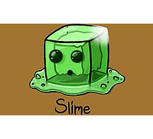 Slime Minecraft Photographic Print