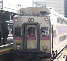 INBOUND Commuter Rail side with Amtrak Bell Sound by Eric Sanford