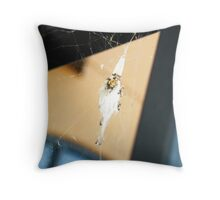Spider Nest Throw Pillow