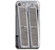 Provencial Weathered Shutters iPhone Case/Skin