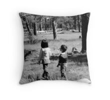 Hansel and Grettle Throw Pillow