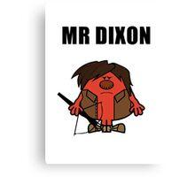 Mr Dixon Canvas Print
