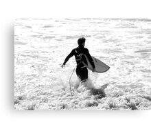 Going Surfing Canvas Print