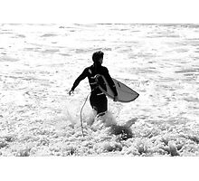 Going Surfing Photographic Print