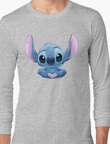 Stitch Heart Long Sleeve T-Shirt
