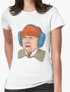 Ron Derpsly No.2 Womens Fitted T-Shirt