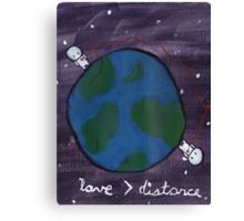 Love > Distance Canvas Print