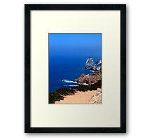 Cabo da Roca - Sintra, Portugal Framed Print