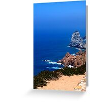 Cabo da Roca - Sintra, Portugal Greeting Card