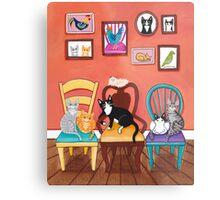 Heidi's Cats Metal Print