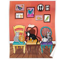 Heidi's Cats Poster