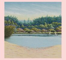 Sailing Boats, Frensham Ponds, Surrey Kids Tee