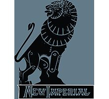 New Imperial Motorcycle Logo Photographic Print