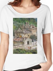 old and abandoned cemetery Women's Relaxed Fit T-Shirt