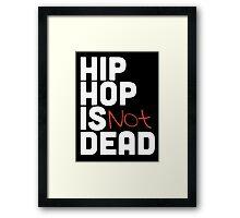 Hip Hop is Not Dead Framed Print