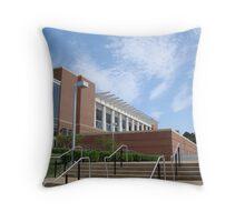 John Paul Jones Arena-Charlottesville Throw Pillow