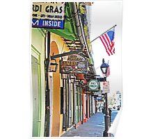 N.O. Street Scene Poster