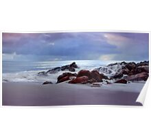 """""""Storm Brewing At Meelup Beach"""" Poster"""