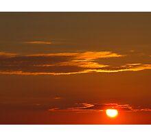 Sunken Sun Photographic Print
