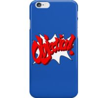 Objection iPhone Case/Skin