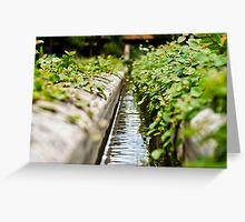 water trail infinite Greeting Card