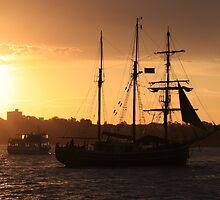 Tall Ship Cruising by SunnieGal