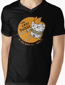 The Last Sushi Mens V-Neck T-Shirt