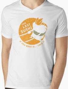 The Last Sushi Mens V-Neck T-Shirt