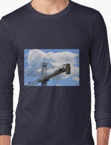 Crane counterweight Long Sleeve T-Shirt