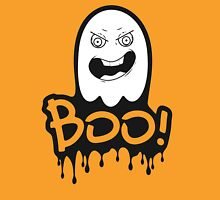 Custom color Halloween annoying face Boo! ghost Unisex T-Shirt