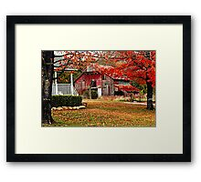 Liv'en In The Ozarks Framed Print