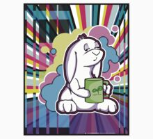 Psychedelic Sleepy Bunny  Kids Clothes