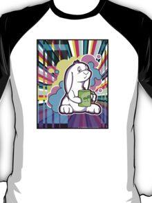 Psychedelic Sleepy Bunny  T-Shirt