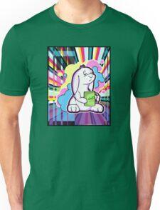 Psychedelic Sleepy Bunny  Unisex T-Shirt